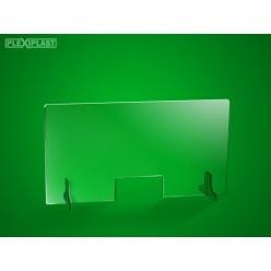 Přepážka 125 x 65 cm (šířka x výška)