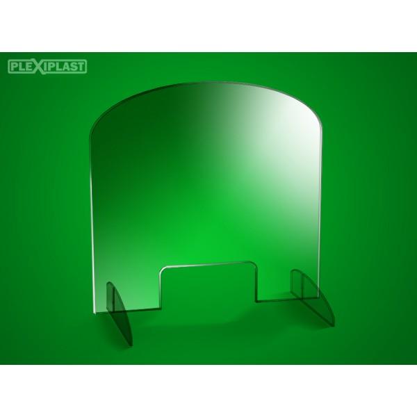 Přepážka oválná 98 x 95 cm (šířka x výška)