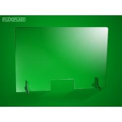 Přepážka 150 x 95 cm (sířka x výška)