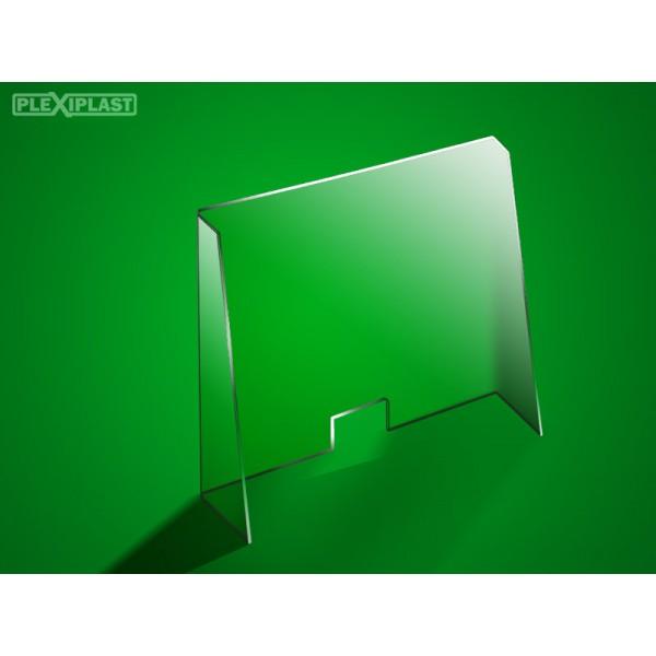 Counter screen 100 x 95 cm (width x height)