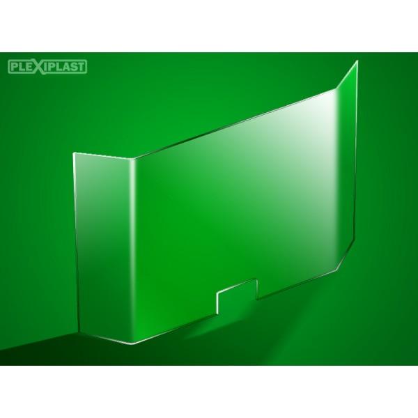 Protective barrier, acrylic 90 x 95 cm (width x height)