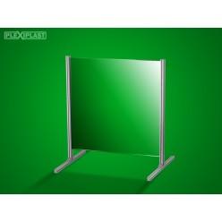 Přepážka hliníková 100 x 100 cm