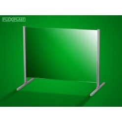 Přepážka hliníková 150 x 100 cm