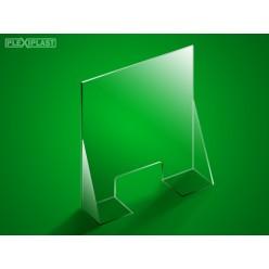Přepážka s dnem 200 x 95 cm (šířka x výška)
