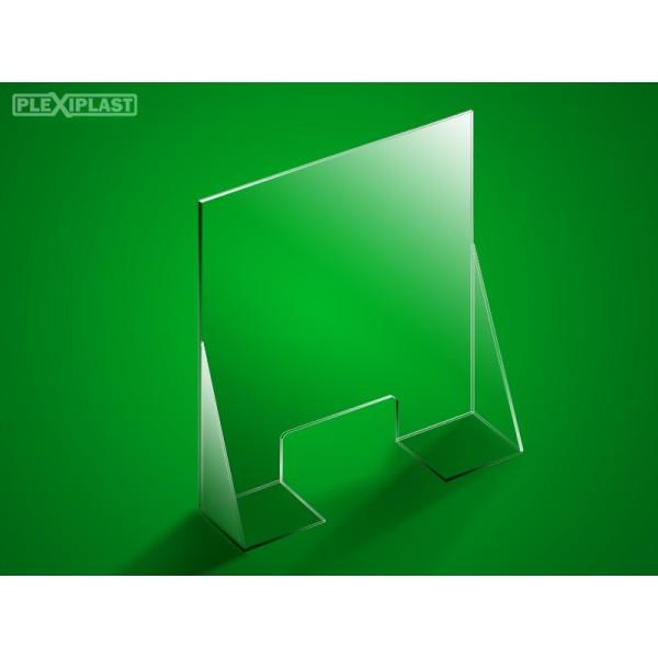 Přepážka se dnem 125 x 95 cm (šířka x výška)
