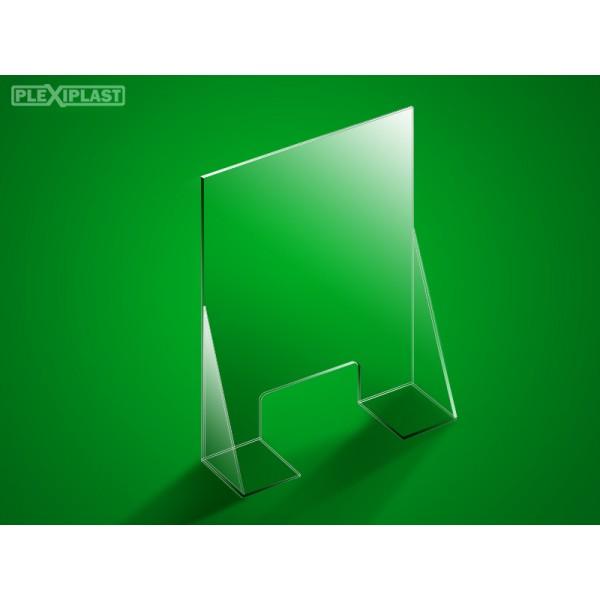 Přepážka se dnem 100 x 95 cm (šířka x výška)
