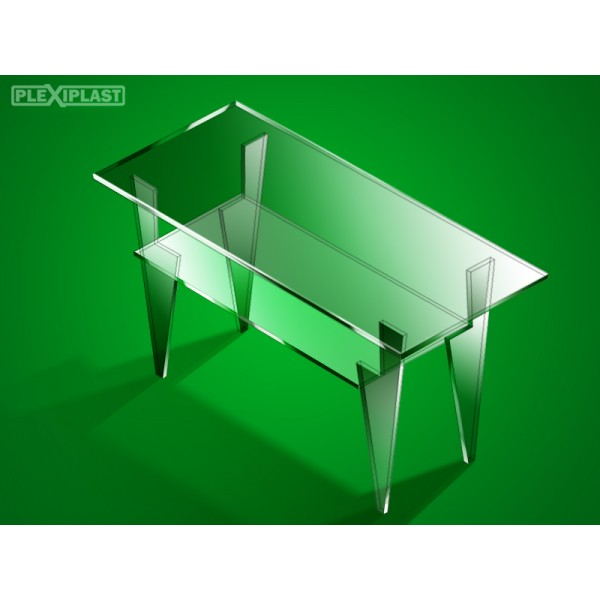 Plexisklový stůl