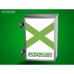 Acrylic sign board 60x80 cm (w x h)