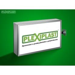 Acrylic sign board 100x80 cm (w x h)