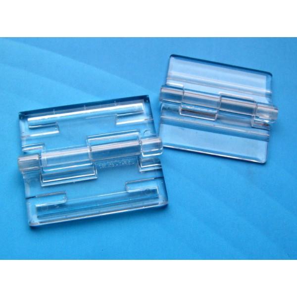 Plexiglass hinge small