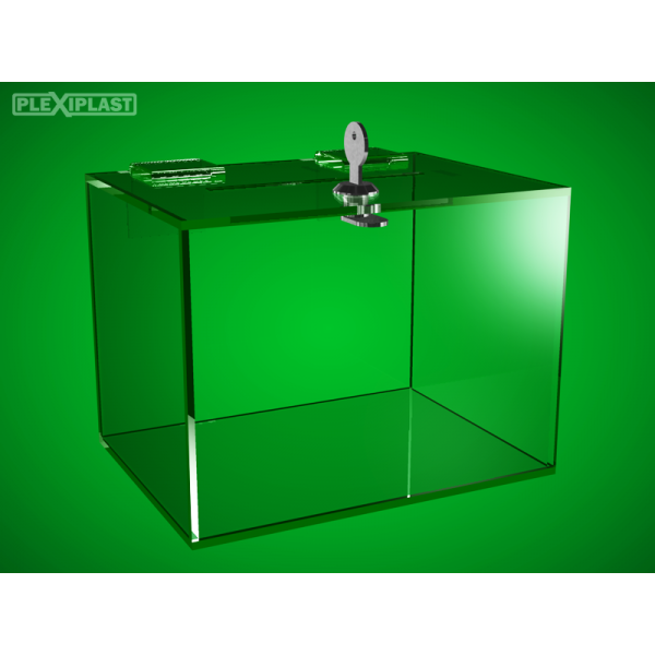 Plastic money box 200 x 150 x 150 mm