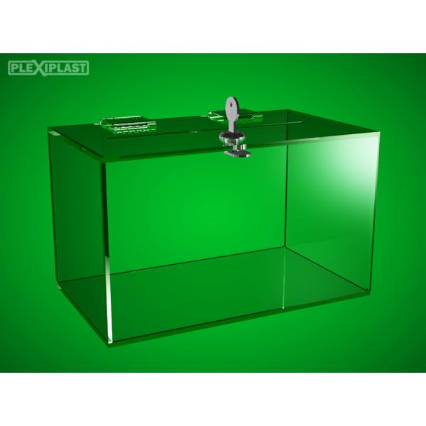 Sbírková pokladnička 250 x 150 x 150 mm