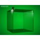 Acrylic moneybox, 150 x 150 x 150 mm