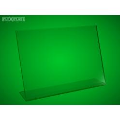 """Plexisklový stojánek """"L"""" A4 na šířku (5 ks)"""