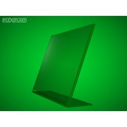 """Plexisklový stojánek """"L"""" A5 na šířku (5 ks)"""