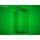 Tall money box, 150 x 150 x 200 mm, clear