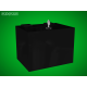 Černá pokladnička 200 x 150 x 150 mm