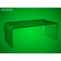 Acrylic hoverstand, U shaped 200x150x100 mm