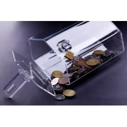 Hexagonal money box