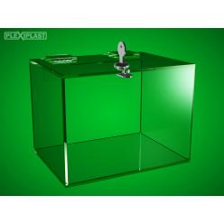 Plastic money box 300 x 200 x 200 mm