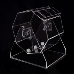 Lottery drawing machine, small