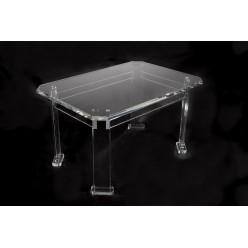 Konferenční stolek z plexiskla, malý
