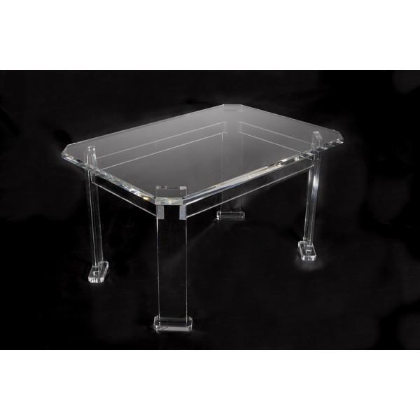 Konferenční stolek z plexiskla, větší