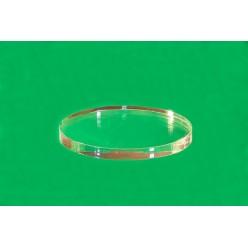 Oválný plastový podstavec 20 x 20 mm (Sada 10 kusů)