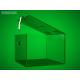 Clear money box 200x200x150 mm