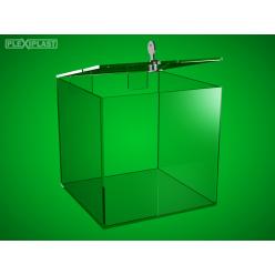 Sbírková kasička 200 x 200 x 300 mm