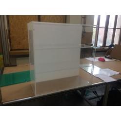 vitrína 800 x 300 x 800 mm (D x HL x V )