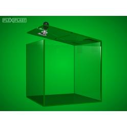 Collection money box 200 x 200 x 350 mm