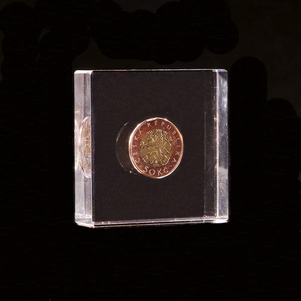 Zalaminovaná mince