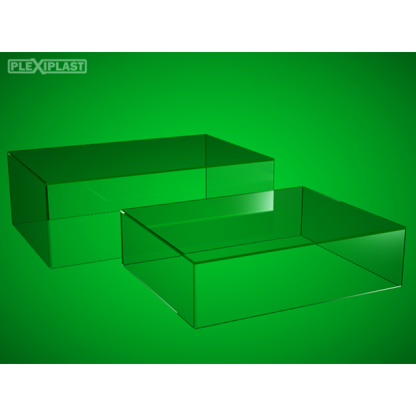 Cover for model 1:8, 650 x 320 x 210 mm